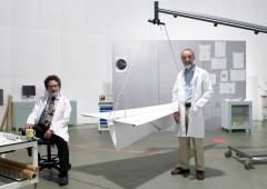 forskare i ett laboratorium